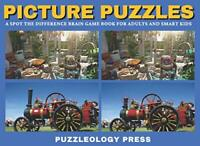 PICTURE PUZZLES: A Spot The Difference Brain Games Book... by Press, Puzzleology
