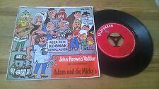 "7"" canzonette Adam U.D. Micky's - John Brown's Vadder (2) canzone TELEFUNKEN"