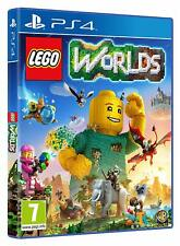 Playstation 4 PS4 Lego Worlds Exclusive Lego Agents Pack Game Neue Welt Neu OVP
