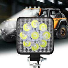 9PCS LED Work Light Bar Flood Spot Lights Driving Lamp Car SUV Truck 27W Of L6S2