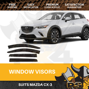 Superior Weathershields to suit Mazda CX-3 CX3 2015-2018 Window Visors