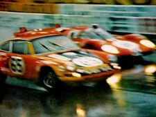 1970 PORSCHE 911 ORIGINAL RACING AD - 911S/911T/Targa/2.2/engine/block/cam/turbo