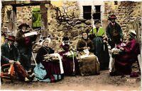 CPA  Les Scenes Villageoises - Folklore  (690541)