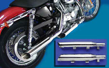MUFFLER SET EXHAUST HARLEY DAVIDSON XL SPORTSTER IRON FORTY EIGHT NIGHTSTER LOW