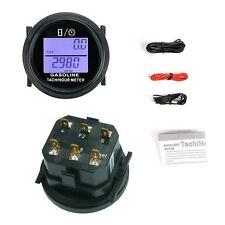Digital Tach Hour Meter Tachometer Waterproof 2/4 Stroke Engines Searon Backlit