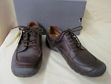 Men's Hush Puppies 10 M Offroad Casual Lace Up Oxford Dark Brown Leather H101189