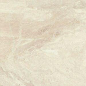 Ivory Ceramic Bathroom Kitchen Marble effect Floor Tile 44.7 x 44.7cm PER M2