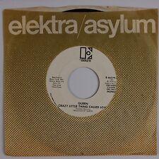 QUEEN: Crazy Little Thing Called Love USA ELEKTRA Orig Radio Mono PROMO 45 NM-
