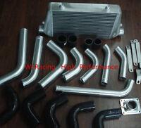 Front mount intercooler kit for Toyota Landcruiser 80 series 1HDT HDJ 12V engine
