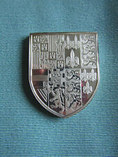 BRITISH ROYAL ARMS Large SILVER Proof Ingot  KING PHILIP & QUEEN MARY I