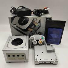 Nintendo GameCube Console + Gameboy Player + Disc Platinum NTSC-J JAPANESE