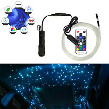 12V RGB Fiber Optic Star Light kit Car LED Ceiling Light Limo Headliner Decor