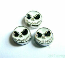 10pcs Skull Floating charms For Glass memory Locket Free shipping FC669