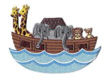 Noah's Ark - Bible - Scripture - Bible School - Iron On Applique Patch