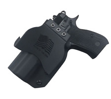 CZ 75 D Compact 9 paddle holster by SDH Swift Draw Holsters
