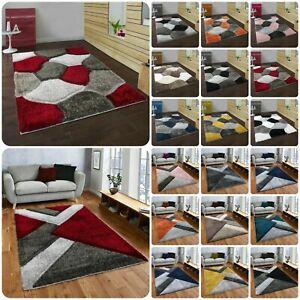 Modern Large Shaggy Area Rugs Hallway Runner Living Room Rugs Bedroom Carpet Mat