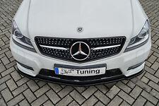 Spoilerschwert Frontspoiler ABS Mercedes Benz C-Klasse W204 AMG ABE Sonderaktion