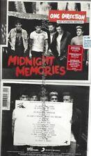 CD--ONE DIRECTION--MIDNIGHT MEMORIES [DELUXE]
