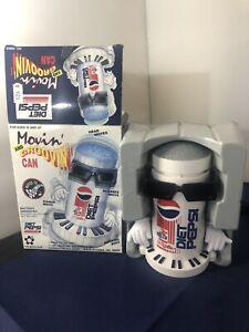 Vintage 1990's Novelty Advertising Dancing Diet Pepsi Can