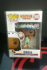 Funko Pop Stranger Things - ERICA #808_Signed by Priah Ferguson +COA