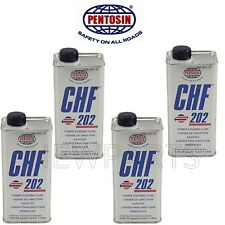 For Power Steering Hydraulic System Fluid CHF 202 Pentosin 4 Liters for VW Audi