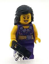 LEGO Female Girl Minifigure with Camera NEW