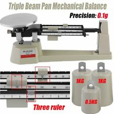 New Triple Beam Pan Mechanical Balance Scale Lab Analytical Weighing 2610gX0.1g