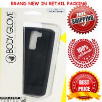 New Body Glove Cell Phone Case for LG K8/K7/Phoenix 2/Escape 3 - Black