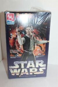 Star Wars Han Solo Collector Edition Scale Model Kit Ertl Brand New Sealed 1995