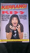 KERRANG No.377 KISS,LEATHERFACE,MC5 ETC