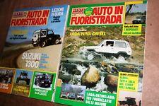 AUTO IN FUORISTRADA - Gente Motori, SINGOLA RIVISTA DAL 1985 AL 1993 Entra!!!