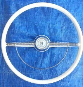 1955 Ford Steering Wheel Beige 55