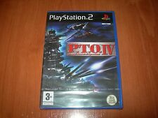 P.T.O. IV PACIFIC THEATER OF OPERATIONS PS2 (PAL ESPAÑA PRECINTADO)