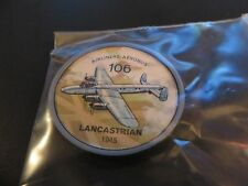 1961 JELL-O HOSTESS AIRPLANE SERIES COIN #106 1948 LANCASTRIAN CANADIAN