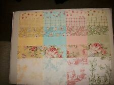 """Reminiscence~~ Beautiful 6"""" Pastel~~ Shabby Chic ~~Squares  24 Total"""