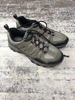 Fila Men's MIDLAND Rugged Trail Hiking Shoes Brown Orange Black