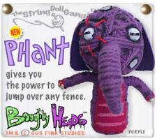 Kamibashi Phant Purple Elephant The Original String Doll Gang Handmade Keychain