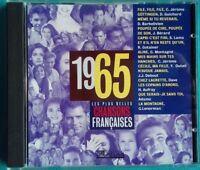 CD LES PLUS BELLES CHANSONS FRANÇAISES 1965 Ref 0749
