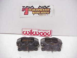 2 Wilwood Dynalite 4 Piston 120-1053 Left & Right Hand Aluminum Brake Calipers