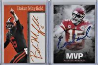 Patrick Mahomes 2018 Facsimile Autograph MVP Card Baker Mayfield Facsimile Auto
