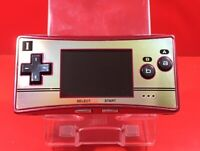 RARE Nintendo Gameboy Micro Famicom Color Console 20th Anniversary F/S Japan