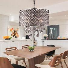 LED Lampe Suspendue Lustre en Cristal Intérieur Luminaire Moderne Plafonnier