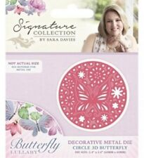 New listing Crafter's Companion 3D Butterfly Lullaby Metal Die Cut English Garden