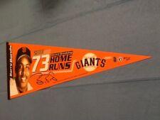 Barry Bonds San Francisco Giants Wincraft MLB Felt Pennant 2001 73 Home Runs