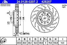 Bremsscheibe - ATE 24.0128-0207.2