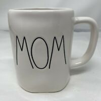 Rae Dunn Magenta MOM Large Coffee Cup Mug white 202 gift rare Valentines Day EUC