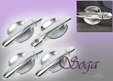 FOR 2006-2010 TOYOTA YARIS 03 COROLLA CHROME DOOR HANDLE and BOWL COVERS COMBO