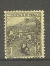 """MONACO STAMP TIMBRE N° 32 """" ORPHELINS DE LA GUERRE 1F + 1F """" NEUF xx TTB"""