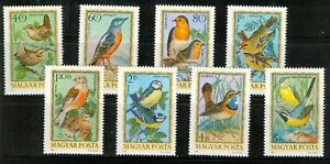HUNGARY - 1973. Birds Cpl.Set MNH! Mi:2855-2862.