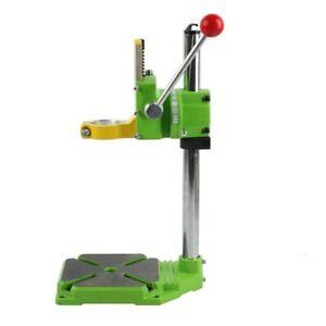 Hand Drill Press Bench Stand Workbench Pillar Clamp Drilling Repair Tool UK